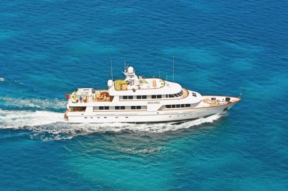 Motor Yacht 'Monte Carlo' Fresh from Interior Refit and Cruising in Greece