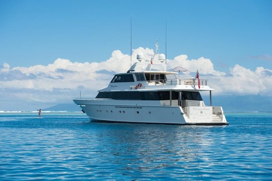 Luxury Yacht DREAMTIME Joins Australian Charter Fleet