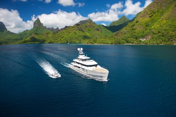 Superyacht 'Big Fish' Heads to Papua New Guinea for the Summer Months