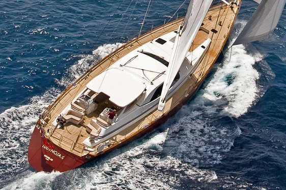 Sailing Yacht 'Ludynosa G' Offers A Free Day In The Caribbean