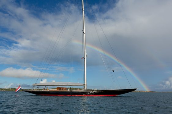 Sailing Yacht RAINBOW Drops Mediterranean Charter Rate