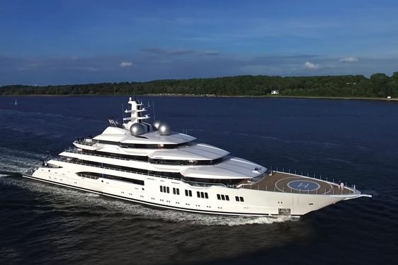 106m Superyacht AMADEA Delivered By Lurssen