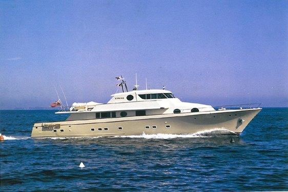 Charter Yacht XIPHIAS Now Open For Charter In Greece