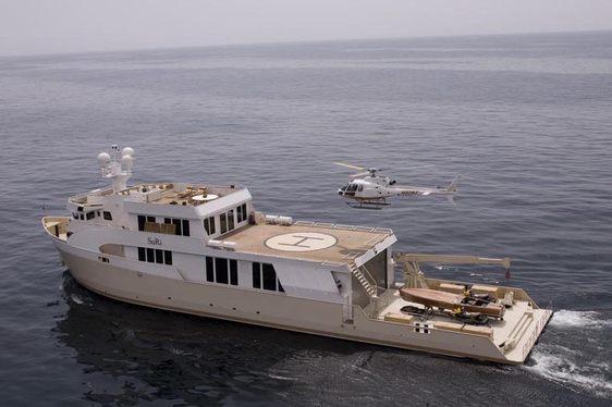Enjoy Superyacht SuRi's New Submarine on a Papau New Guinea Luxury Charter