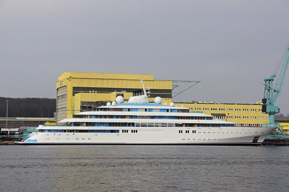VIDEO: Lürssen's 125-metre Superyacht 'Golden Odyssey' (ex. TATIANA) Launched