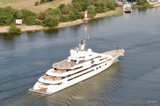140m Lurssen superyacht 'Project Lightning' embarks on sea trials