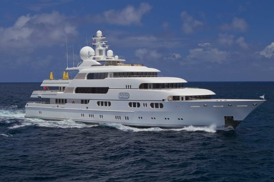 Superyacht TITANIA Charter Discount in the West Mediterranean