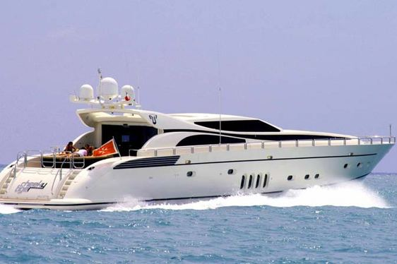 Superyacht 'Cheeky Tiger' has Charter Availability in Turkey