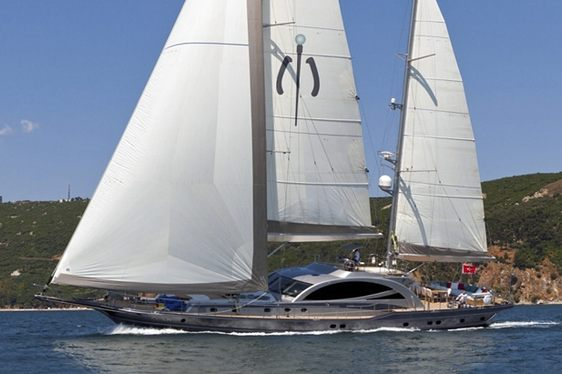 Sailing Yacht MERLIN Lowers Weekly Rate for Turkey Charters