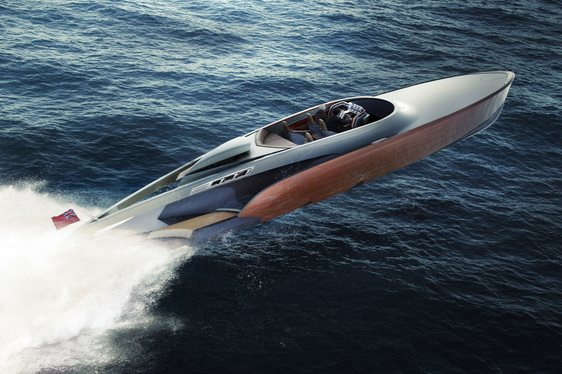 Fly Through the Waves on the Spitfire Engine-Powered 'Aeroboat'