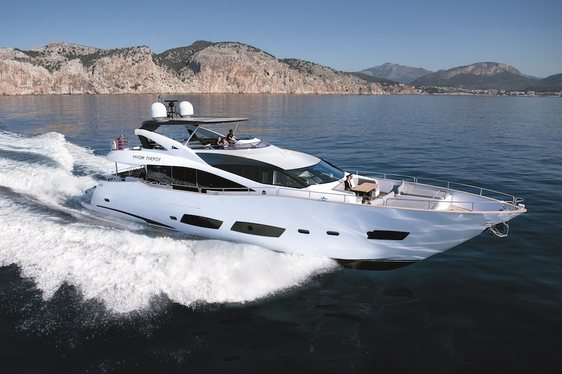 Fill Motor Yacht 'High Energy''s Charter Gap in the French Riviera