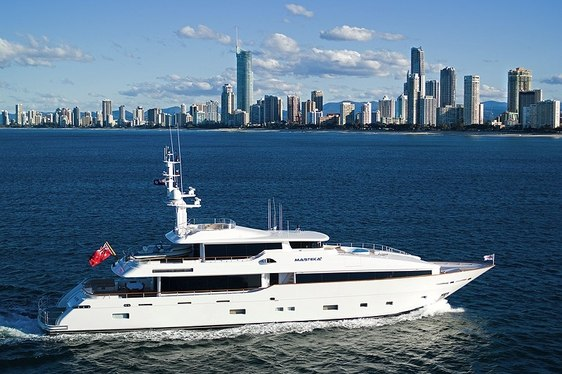 Luxury Motor Yacht 'MASTEKA 2' Has Charter Availability in Australia