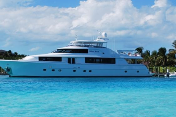 Superyacht 'SILVER MOON' Available to Charter in Florida