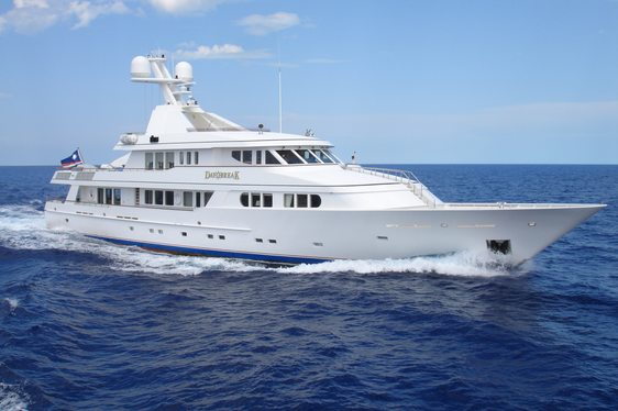 Feadship Superyacht DAYBREAK Open For Charter In The Bahamas