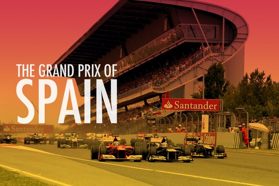 Spanish Grand Prix poster