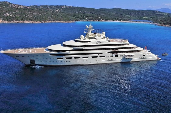 Superyacht DILBAR Named 'Motor Yacht Of The Year' At World Superyacht Awards 2017