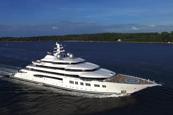 Video: Brand New Lurssen Superyacht Completes Sea Trials