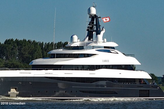 Video: brand new 75m Abeking & Rasmussen superyacht ELANDESS delivered