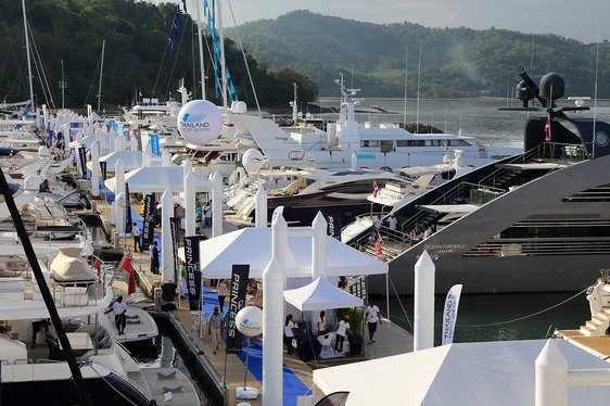 Superyachts Head to Phuket for the Thailand Yacht Show 2016