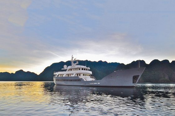 Expedition Yacht ANDA Joins Global Charter Fleet