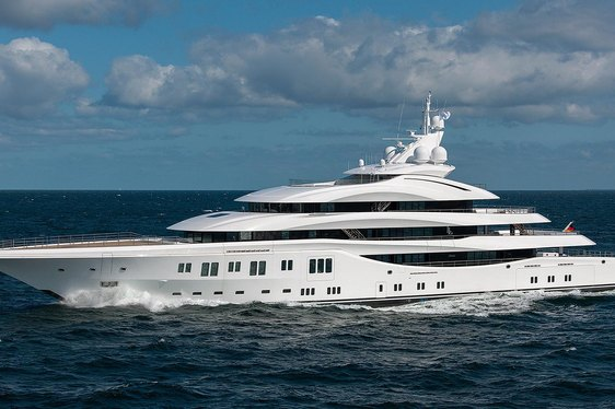 Lurssen luxury yacht Lady Lara makes her maiden voyage to Norway
