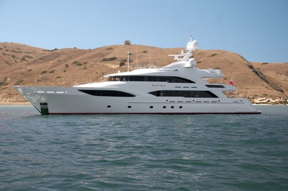 Charter Yacht KATYA Offers Special Summer Rate