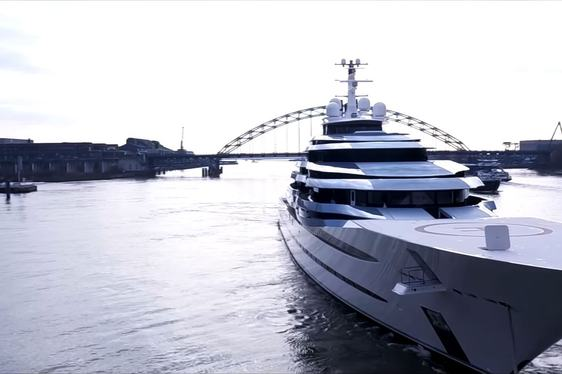 Brand New Footage Of Oceanco Superyacht JUBILEE