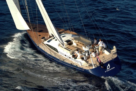 Sailing Yacht PTARMIGAN Available for Ibiza Charters