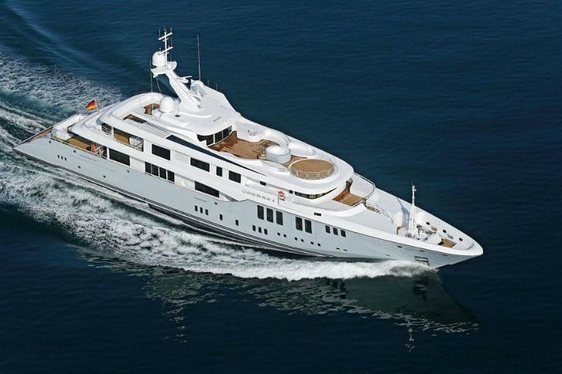 Superyacht 'ODESSA II' Available In The Mediterranean This Summer
