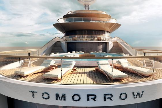 Pride Mega Yachts to Begin 108m Superyacht 'Project Tomorrow' in 2015