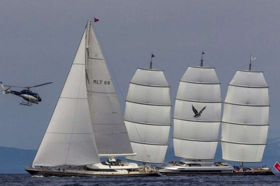 Maltese Falcon Yacht racing 2015