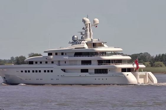 Superyacht ROMEA Delivered by Abeking & Rasmussen