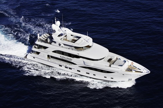 Motor Yacht 'King Baby' Open for Charter in New England and the Caribbean