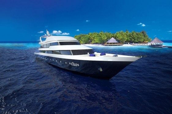 Superyacht AZALEA New to Global Charter Fleet in the Maldives