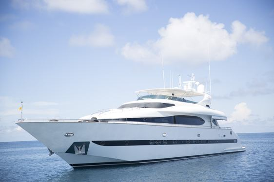 Luxury Yacht 'Sea Jaguar' Cruises the Maldives