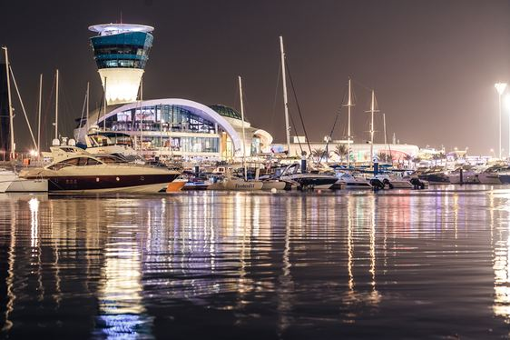 Yas Marina Welcomes Record Fleet of Superyachts for Abu Dhabi GP Weekend