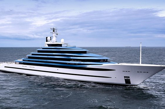 Oceanco Unveil Largest Dutch Yacht - 110m Superyacht JUBILEE