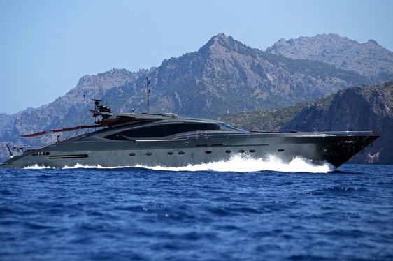 Luxury Yacht ASCARI Prepares for Ibiza Charter Season