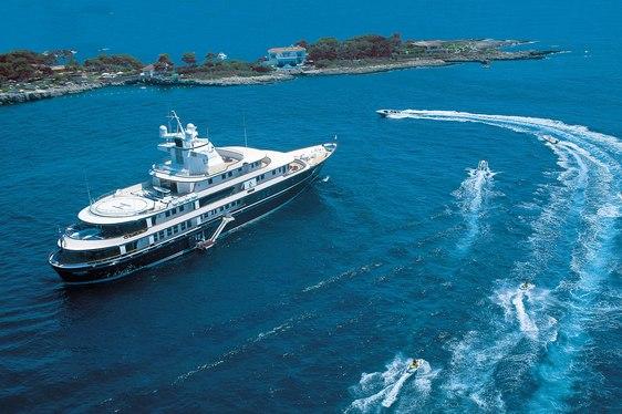 Charter Yacht Leander new custom tenders