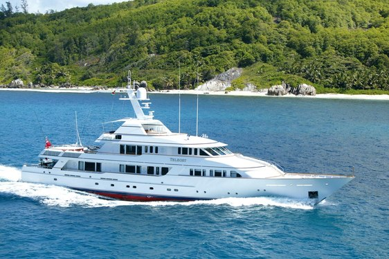 Charter yacht TELEOST in the Caribbean
