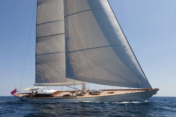 Sailing yacht ANNAGINE in Spanish waters