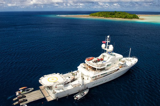 Expedition yacht SENSES for charter again