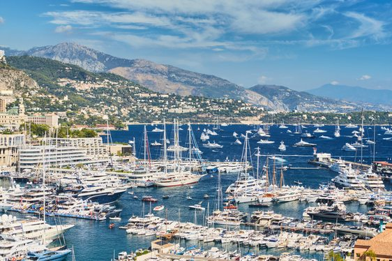 5 of the top superyachts at anchor at the Monaco Yacht Show 2018