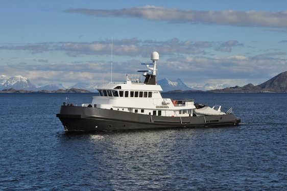 Expedition Yacht LARS Perfect for Chartering in Northern Europe