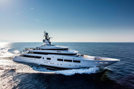 FIRST IMAGES: Superyacht SUERTE Prepares for Delivery