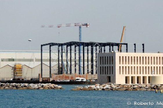 SPOTTED: Benetti Prepares for Building 100m+ Superyachts