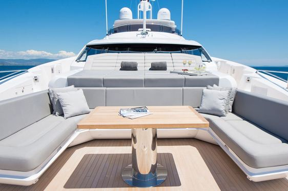 Sneak preview inside new-to-charter superyacht 'Aqua Libra'