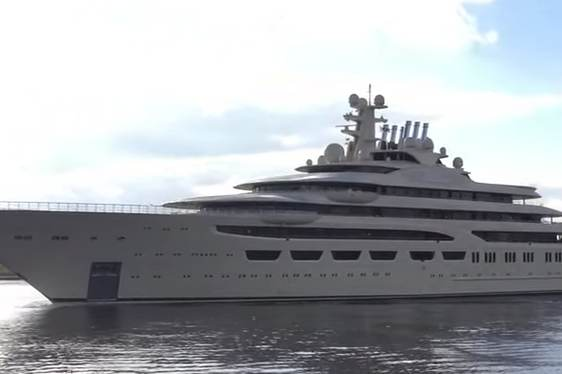 Video: New 156m Lurssen Superyacht Undergoing Sea Trial