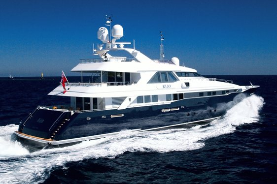 Motor Yacht KIJO Joins The Global Charter Fleet