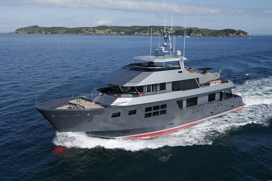 Award-winning superyacht AKIKO available to charter in Australia